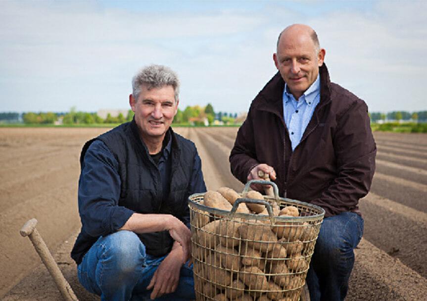 Henk Scheele & René de Zeeuw – akkerbouwers en initiatiefnemers Hoeksche chips