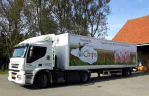 Hoeksche Chips vrachtwagen
